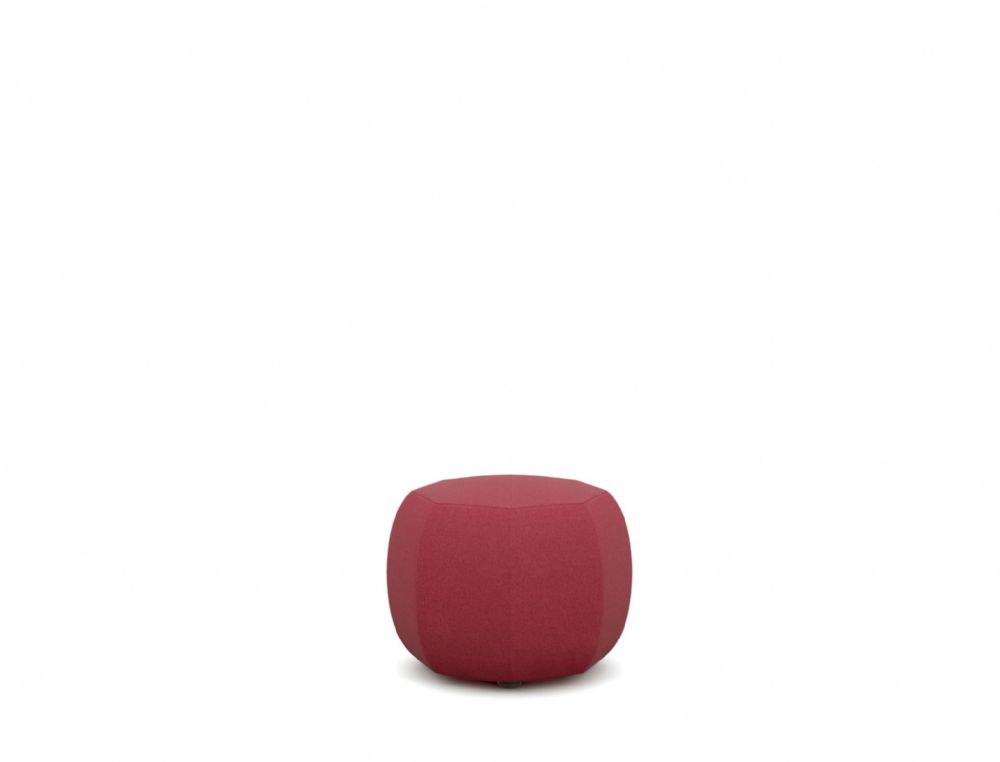 Pledge Runna Upholstered Small 8 Sided Pouff